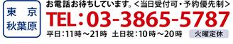 ブラックビズ秋葉原店・電話番号